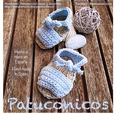 3-6 MESes SANDALIAS BABY Patuconicos modelo: Albarquitas en azul. 15€ (gastos de envio no incluidos)