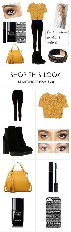 """Spring #8"" by peterkonijn on Polyvore featuring mode, New Look, Miguelina, Hogan, Charlotte Tilbury, Gucci, Chanel en Giuseppe Zanotti"