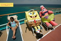 Norwegian Cruise Line Nickelodeon at Sea   Spending quality time with SpongeBob and Patrick