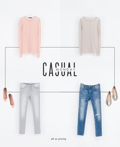 Oh So Pretty: Casual Monday