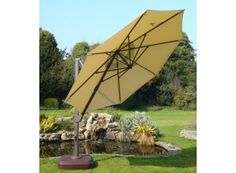 Cantilever parasol Weather Watch, Parasol Covers, Cantilever Parasol, Outdoor Rooms, Outdoor Decor, Sunny Afternoon, Cost Of Goods, Outdoor Fabric, Garden Furniture