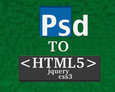 PSD to HTML5/css3