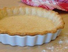 Pie Crust (Gluten-Free Recipe)