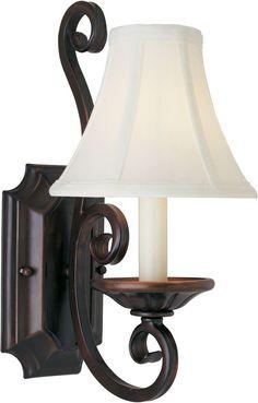 1STOPlighting.com | Manor - One Light Wall Sconce