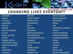 Download Directions: How to properly take Kyani Products | life ...