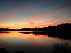 Lake Colby, Saranac Lake ~ md Oct 2013