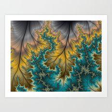 Autumn Strikes Art Print   Kreative Minds Technology