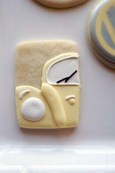 Sooner Sugar Cookies https://www.facebook.com/soonersugar Volkswagon cookies, VW Bug cookies
