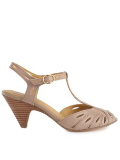 TRIP THE LIGHT FANTASTIC  $90  material: leather  Heel Height: 3""