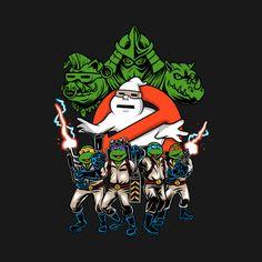 KRANG BUSTERS T-Shirt - TMNT T-Shirt is $11 today at Ript!