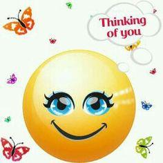 Bildresultat för thinking emoji Smileys, Funny Emoticons, Funny Emoji, Images Emoji, Emoji Pictures, Emoji Pics, Thinking Of You Today, Thinking Of You Quotes, Love Smiley
