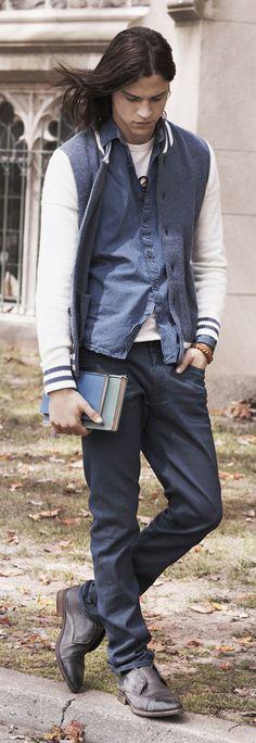 Hilfiger Denim FW13 Scanton Slim Leg Jeans, Rickey T-Shirt