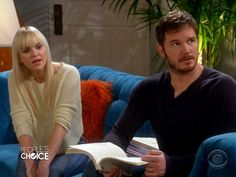 Super-Couple Alert! Chris Pratt and Anna Faris Kick Off the People's Choice Awards http://www.peoplestylewatch.com/people/stylewatch/package/article/0,,20768378_20889692,00.html