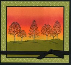 Fall Sky by mlnapier - Cards and Paper Crafts at Splitcoaststampers