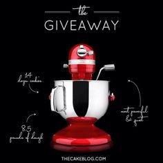 Giveaway from The Cake Blog!!!