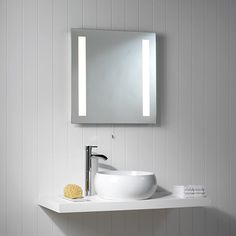 Just a little bit more light where it's needed in the bathroom can make it a great place to apply makeup/shave!