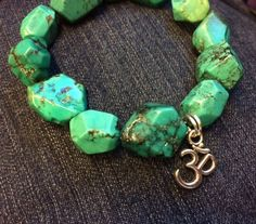 Turquoise Gemrock for Balance & Grounding | Lovealeta* Love-Infused Soulwear by Justine Crowley