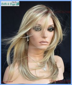 Fortune Ellen Wille Wig Extended Lace Front Monotop HandTied Sandy Blond Rooted #ellenwille
