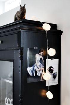 pretty for the side of a cabinet - a mini mood board