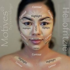How to Contour and Highlight Your Face GTL
