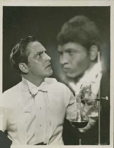 Frederic March in Dr. Jekyll and Mr. Hyde (1931), from Beauty And Terror Dance