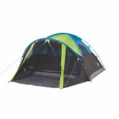 Coleman has a variety of tents for camping. The Coleman® Carlsbad™ Dome Tent with Screen Room blocks of sunlight to keep the tent darker. Camping Diy, Best Tents For Camping, Tent Camping, Camping Gear, Camping Hacks, Outdoor Camping, Camping Tools, Truck Camping, Camping Supplies