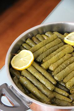 Stuffed # # # # - World Cuisine Audition Albanian Recipes, Turkish Recipes, Ethnic Recipes, Albanian Food, Greek Recipes, Quince Jam Recipe, Stuffed Grape Leaves, Turkish Breakfast, Turkish Sweets