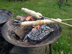 Camping bread sticks