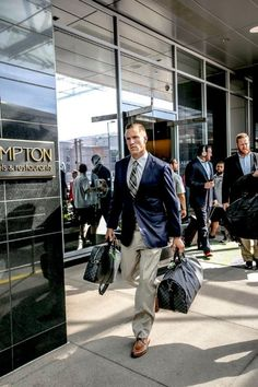 Blaine Gabbert goes for a preppy look on gameday.