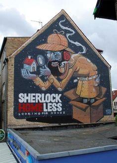 Arte de rua do mês - 2013/01/10. Discussão sobre LiveInternet - Serviço diário russo on-line
