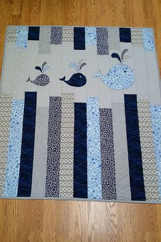 Little Bunny Quilts: Fertig, fertig, hoch! {Musterpremiere} - My Quilt Ideas Quilt Baby, Rag Quilt, Baby Boy Quilt Patterns, Owl Baby Quilts, Chevron Baby Quilts, Quilted Baby Blanket, Flannel Baby Blankets, Boy Blankets, Owl Patterns
