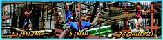 """Palisades Climb Adventure Ropes Course (42"""" height requirement)"""