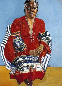 Faith Ringold by Alice Neel