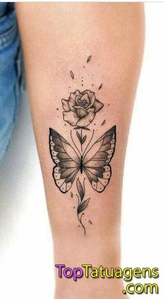 50 Fotos de Tatuagens de borboletas para se inspirar - Fotos e Tatuagens - #borboletas #de #Fotos #Inspirar #para #se #tatuagens Dope Tattoos, Girly Tattoos, Pretty Tattoos, Mini Tattoos, Forearm Tattoos, Beautiful Tattoos, Body Art Tattoos, Small Tattoos, Cute Wrist Tattoos