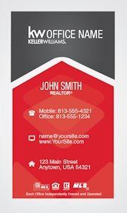 64 f1g 400229 business cards pinterest business cards creative vertical keller williams business card template design colourmoves