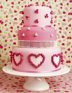 Sweethearts cake, Peggy Porschen. #heart