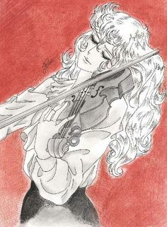 Image uploaded by Alga. Find images and videos about drawing, Violin and versailles no bara on We Heart It - the app to get lost in what you love. Old Anime, Manga Anime, Lady Oscar, Fanart, Carmilla, Oscars, Female Characters, Portrait, Character Design