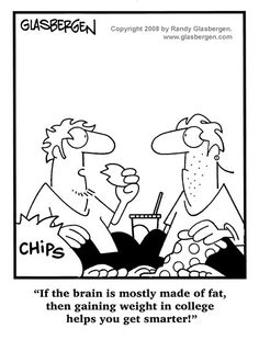 HAH! If only ;) | via @SparkPeople #humor #diet #diethumor #college #collegehumor
