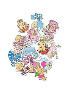 15 Pcs X Baby Theme Laser Die Cut Variety Wood Patches DIY Scrapbook Embellishments Decoration Birthday Chrismas Wedding Birthday Baby Groom Bride -- Click image to review more details.