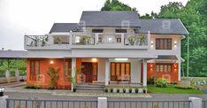 കാത്തിരുന്ന കണ്മണിയെപ്പോലെ പുതിയ വീട്; ജീവിതം ഇപ്പോൾ കൂടുതൽ സുന്ദരം Indian House Plans, Free House Plans, Courtyard House Plans, House In Nature, Kerala Houses, Indian Homes, Peaceful Places, Eco Friendly House, Minimalist Home