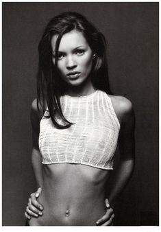 Kate Moss - this used to be one of my fav pics of her when I was 15/16 years old!