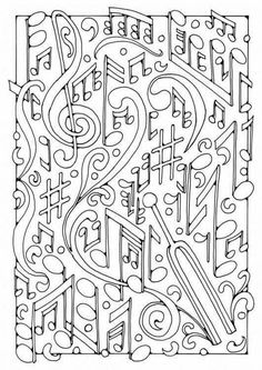 Coloring page music. Pictures for school and teaching: Music - Coloring picture - Picture . - Coloring page music. Pictures for school and teaching: music – coloring picture – picture for c - Coloring Book Pages, Printable Coloring Pages, Coloring Sheets, Piano Music, Art Music, Kids Music, Music Worksheets, Piano Teaching, Elementary Music