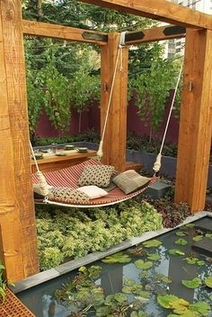 Suspended. | 39 Places You Want To Sleep Right Now