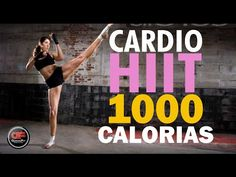 "CARDIO HIIT "" Ideal para perder peso"" - YouTube"