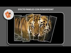 Hacer efecto Paneles con PowerPoint - YouTube Collage, Photoshop, Tech, Marketing, Words, Music, Learning, Creativity, Student