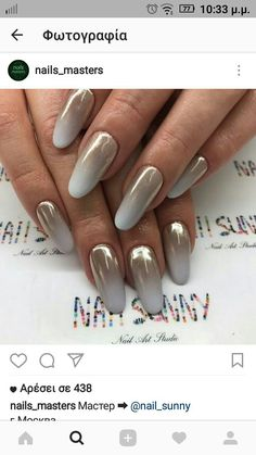 Nail ombre!!!! So elegance!! Braid to be....