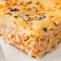 Torta de frango low carb - Amando Cozinhar: Receitas Fáceis e rápidas
