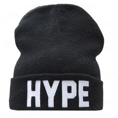 32e33dc3f72 hype beanie - black white - one size Amazon.co.uk Clothing ❤ liked on  Polyvore featuring accessories