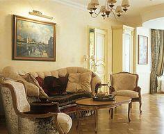 Зона отдыха в гостиной. #интерьер #классика #мебель  #гостиная #классическийинтерьер
