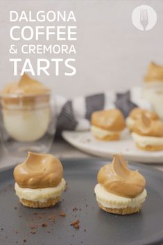 Your favourite coffee combo has just become the TRENDIEST LITTLE TARTS! Easy Snacks, Easy Healthy Recipes, Easy Meals, Dinner Party Desserts, Coffee Cream, Breakfast Dishes, Kos, Tarts, Sugar Free